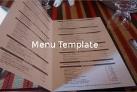 47+ Menu Templates – Free Excel, Pdf, Word, Psd | Free with Free Restaurant Menu Templates For Microsoft Word
