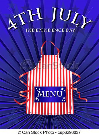 4Th Of July Menu Intended For 4Th Of July Menu Template