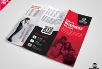Business Tri-Fold Brochure Template Design Psdmohammed for Tri Fold Menu Template Photoshop
