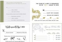 Dos & Donts: Place Cards & Meal Choices | Rsvp Wedding Cards with regard to Wedding Rsvp Menu Choice Template