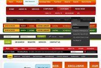 Free Custom Navigation Menu~Amandhingra On Deviantart inside Free Website Menu Design Templates