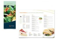 Free Restaurant Menu Template - Download Word & Publisher with regard to Menu Templates For Publisher