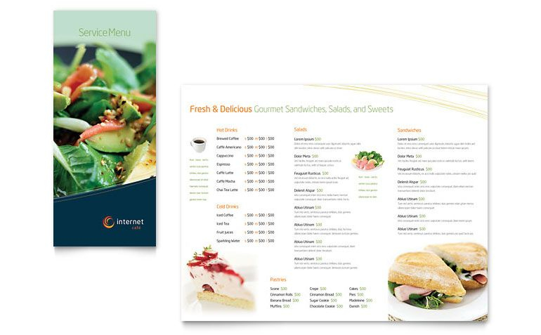 French Menu Template Microsoft | Restaurant Menu Templates in Free Restaurant Menu Templates For Microsoft Word