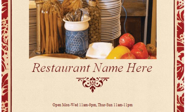 How To Make A Restaurant Menu (With 16+ Free Templates) inside Free Restaurant Menu Templates For Microsoft Word