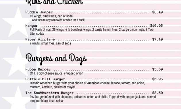 Imenupro · Restaurant Menu Templates, Menu Software Intended For 4Th Of July Menu Template