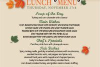 Thanksgiving Day Menu Template – Bensar within Thanksgiving Day Menu Template
