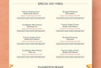 Thanksgiving Menu Template – 28+ Free Psd, Eps Format inside Thanksgiving Day Menu Template