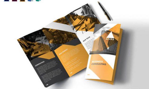 Tri Fold Brochure Templates – 56+ Free Psd, Ai, Vector Eps for Tri Fold Menu Template Photoshop