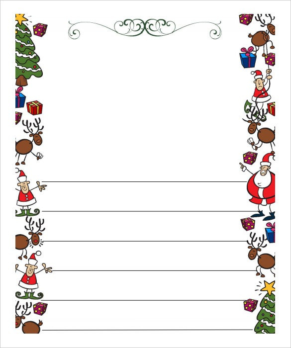 13+ Christmas Letter Templates – Word, Apple Pages, Google Inside Christmas Letter Templates Free Printable