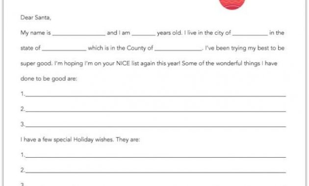 20 Free Printable Letters To Santa Templates – Spaceships with regard to Free Printable Letter From Santa Template