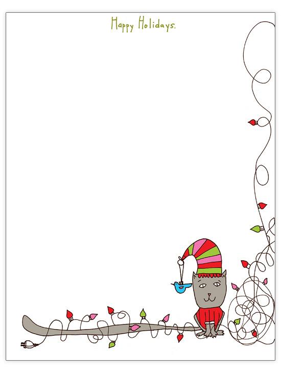 33 Free Christmas Letter Templates | Better Homes & Gardens In Christmas Letter Templates Free Printable