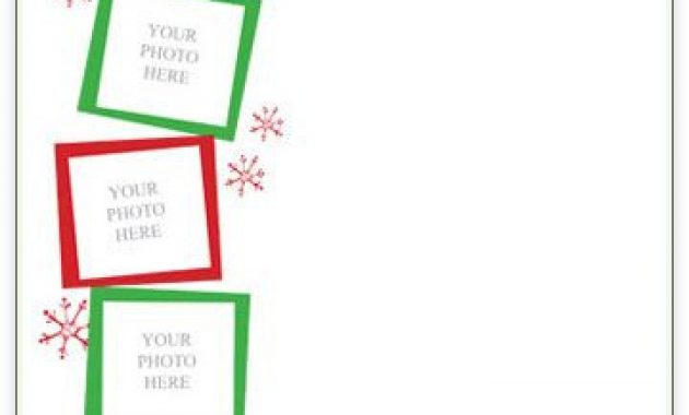 33 Free Templates To Help You Send Holiday Cheer | Christmas For Christmas Letter Templates Free Printable
