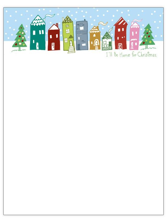 33 Free Templates To Help You Send Holiday Cheer (With Regarding Christmas Letter Templates Free Printable