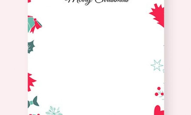 6+ Free Christmas Invitation Templates – Word (Doc) | Google Intended For Christmas Letter Templates Free Printable