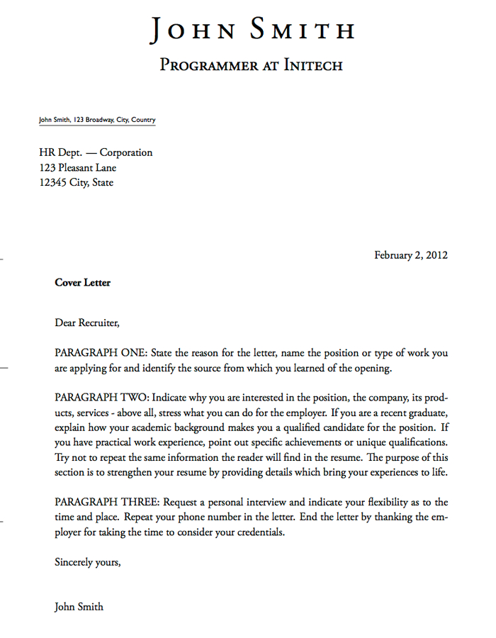 Cover Letter Template For Banking Position - Google Search Regarding Google Cover Letter Template