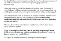 Donation Request Letters: Asking For Donations Made Easy for How To Write A Donation Request Letter Template