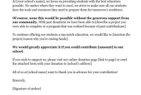 Donation Request Letters: Asking For Donations Made Easy with regard to How To Write A Donation Request Letter Template