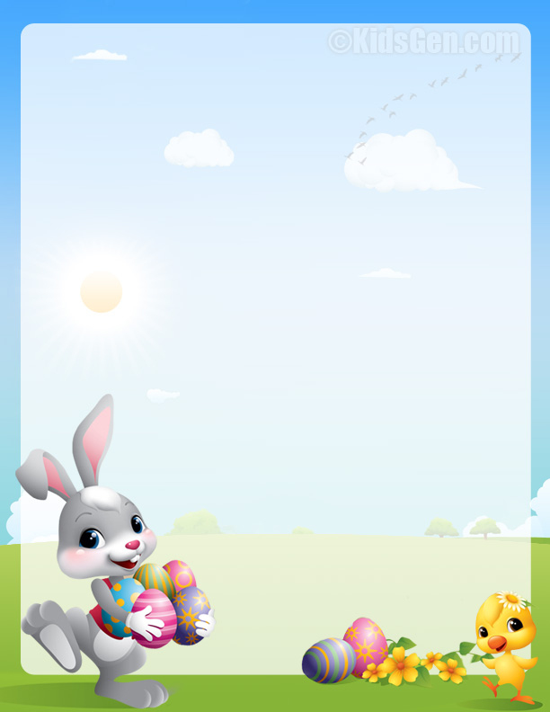 Easter Bunny Letter Template Word Sample Letter – The Easter Inside Letter To Easter Bunny Template
