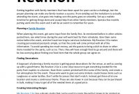Family Reunion Letter For The Next Year Ideas - Google within Family Reunion Letter Template