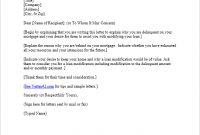 Free Hardship Letter Template | Sample Mortgage Hardship Letter within Mortgage Letter Templates
