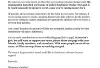 Fundraising Letters: 7 Examples To Craft A Great Fundraising for How To Write A Donation Request Letter Template