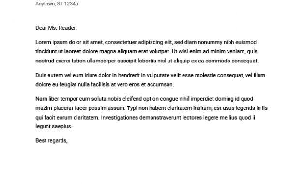 Google Docs Cover Letter Templates: 5+ Google Cover Letters pertaining to Google Cover Letter Template