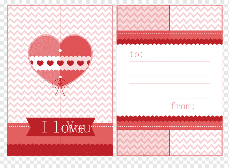 I Love You Poster Card Collage, Love Letter Template Inside Template For Love Letter