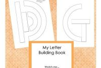 Patterns For Building Letters -- Like Handwriting Without throughout Handwriting Without Tears Letter Templates