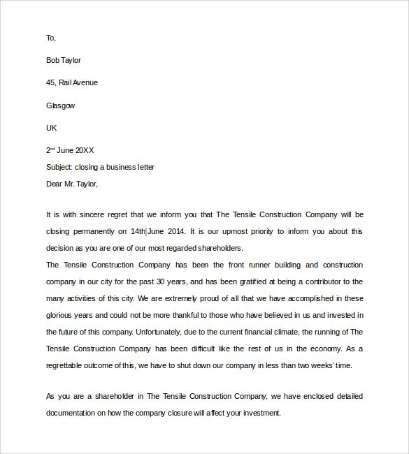 Pinjerry Li On Recipes To Cook | Business Letter Sample With Regard To Account Closure Letter Template