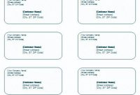 30 Shipping Label Templates Word In 2020 | Label Templates pertaining to Free Mailing Label Template For Word