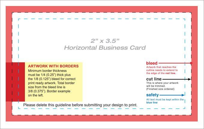 44+ Free Blank Business Card Templates - Ai, Word, Psd for Blank Business Card Template Download
