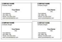 71 Free Printable Blank Business Card Template Microsoft throughout Blank Business Card Template Download