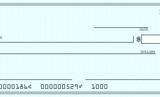 A Large Blank Cheque Template Presentation Checks Free 7 intended for Large Blank Cheque Template