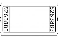 Admission Ticket Template | Regalos Baratos Para Novio Pertaining To Blank Admission Ticket Template
