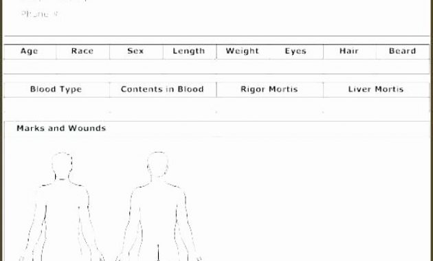 Autopsy Report Template Blankat Example Uk Guidelines intended for Blank Autopsy Report Template