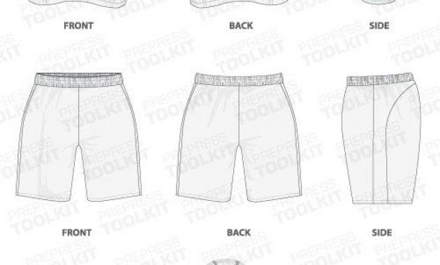 Basketball Uniform Template Mockup Vector | Basketball throughout Blank Basketball Uniform Template