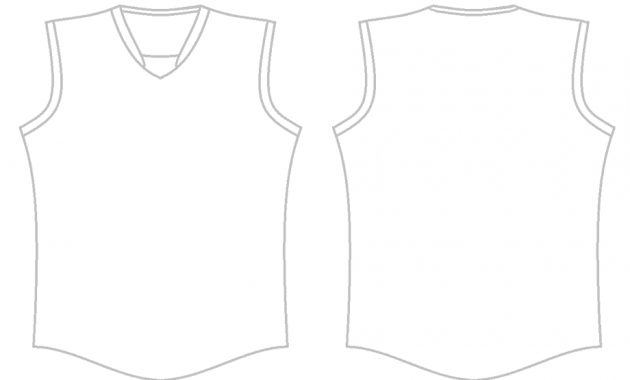 Blank Basketball Jersey Template Png Images | Pngwing throughout Blank Basketball Uniform Template