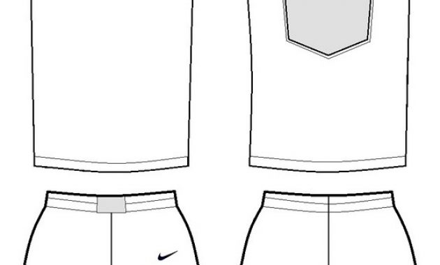 Blank Basketball Uniform Template (3 Di 2020 | Pejuang pertaining to Blank Basketball Uniform Template