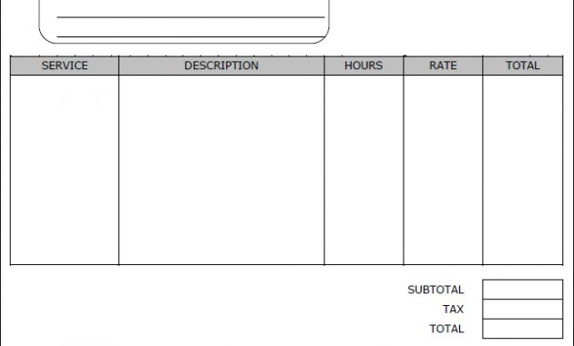 Blank Business Invoice And Payroll Check Template For in Blank Pay Stubs Template