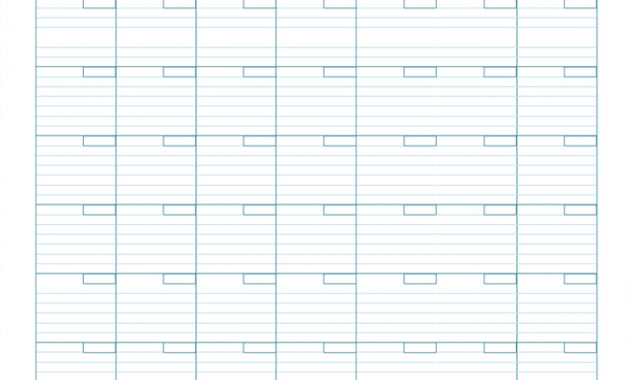 Blank Monthly Calendar pertaining to Full Page Blank Calendar Template