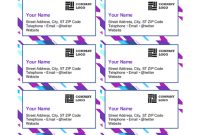 Business Cards – Office pertaining to Blank Business Card Template Download