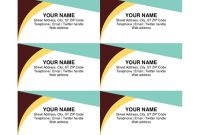 Business Cards – Office throughout Blank Business Card Template Download