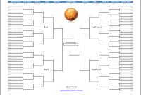 Download The Ncaa March Madness Bracket Template From with regard to Blank Ncaa Bracket Template