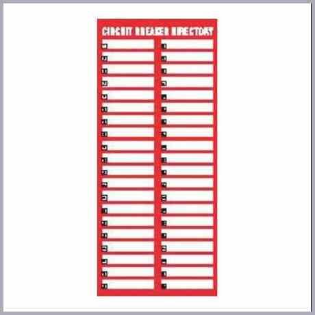 Excel Breaker Box Label Template – Lari.anb18.vmbso.de Within Breaker Box Label Template