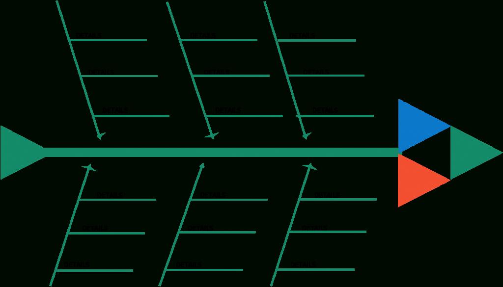 Fishbone Diagram Templates | Aka Cause And Effect Or In Blank Fishbone Diagram Template Word