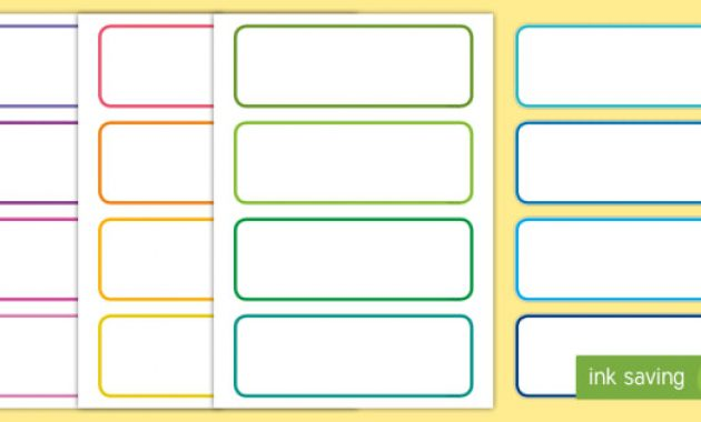 Free! – 👉 Editable Tray & Drawer Labels | Primary Classroom with Free Name Label Templates