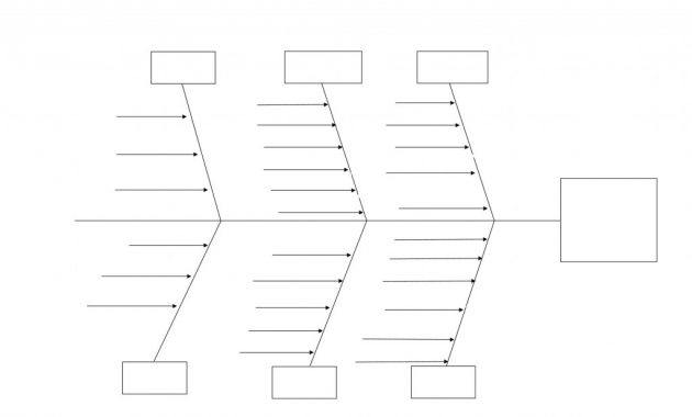 Free Fishbone Diagram Template ~ Addictionary Regarding Blank Fishbone Diagram Template Word