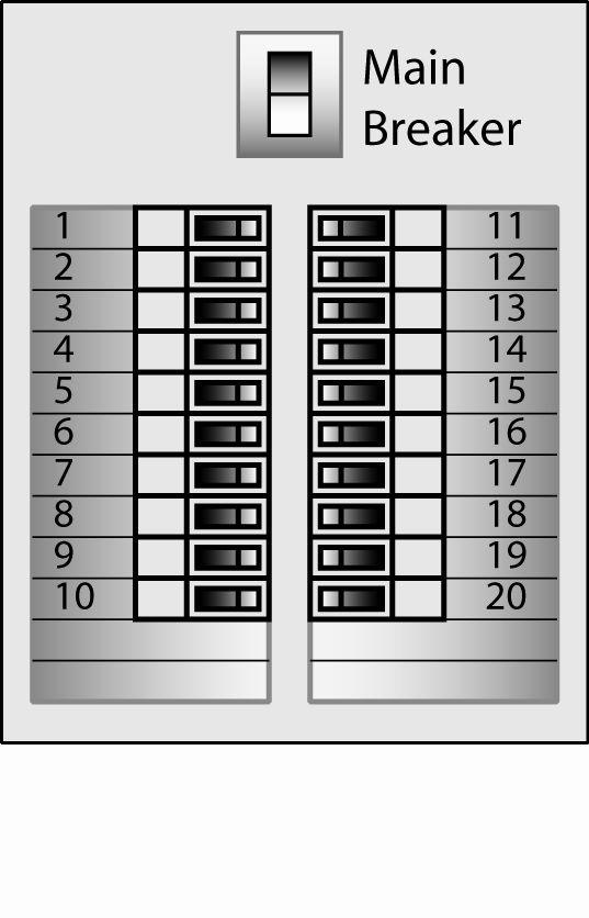 Free Printable Circuit Breaker Panel Labels Unique In Breaker Box Label Template