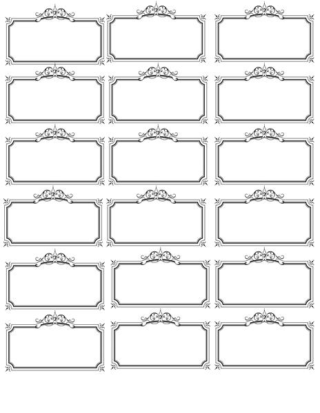 Name Tag Template | Plantillas Etiquetas, Etiquetas Nombres Within Free Name Label Templates