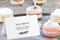Pin On Label Template inside Dessert Labels Template